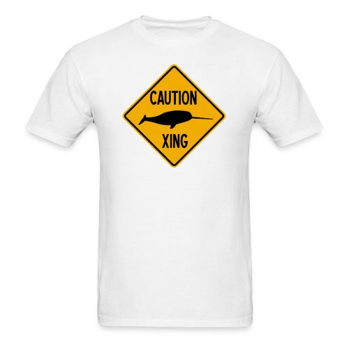 Narwhal Xing - Men's T-Shirt