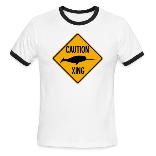 Narwhal Xing - Men's Ringer T-Shirt
