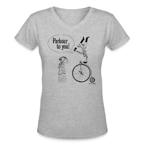 Parkour to You!  - Women's V-Neck T-Shirt