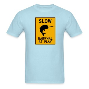 Narwhal at play - Men's T-Shirt