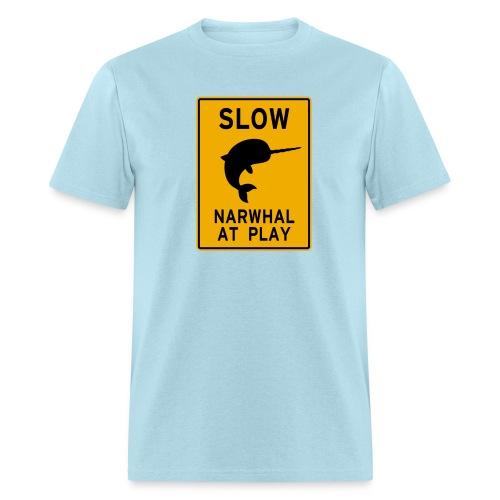 Narwhal at play - Men's T-Shirt