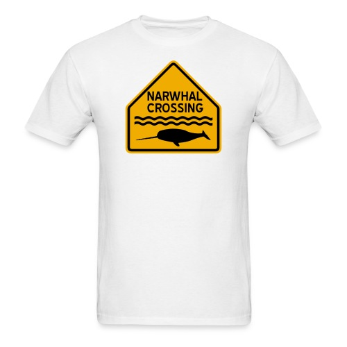 Narwhal Crossing - Men's T-Shirt