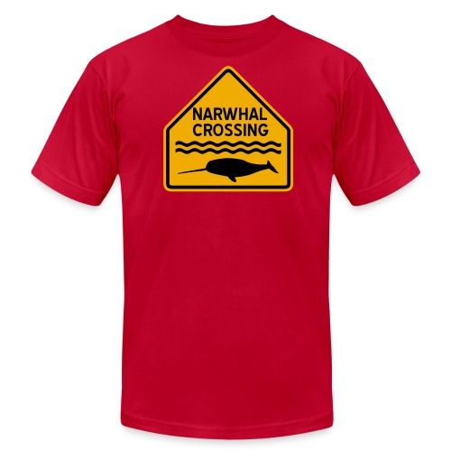 Narwhal Crossing - Men's Fine Jersey T-Shirt