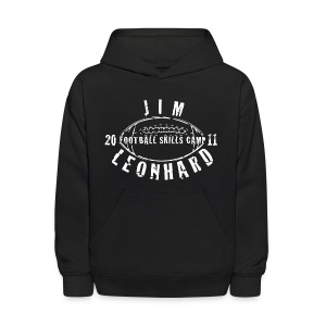 2011 Jim Leonhard Football Skills Camp Kid's Hoodie - Kids' Hoodie
