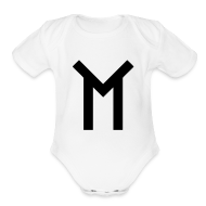 Baby Bodysuits ~ Baby Short Sleeve One Piece ~ TMT Logo Baby Shirt