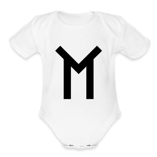 TMT Logo Baby Shirt - Organic Short Sleeve Baby Bodysuit