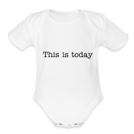 Baby Bodysuits ~ Baby Short Sleeve One Piece ~ TMT Motto Baby Shirt