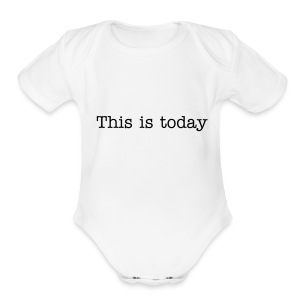 TMT Motto Baby Shirt - Short Sleeve Baby Bodysuit