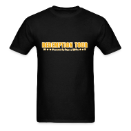 T-Shirts ~ Men's T-Shirt ~ Redemption Tour -- men's standard