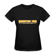 Women's T-Shirts ~ Women's T-Shirt ~ Redemption Tour -- womens standard