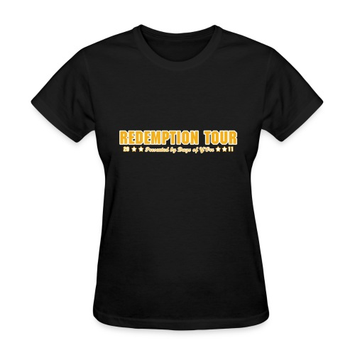 Redemption Tour -- womens standard - Women's T-Shirt