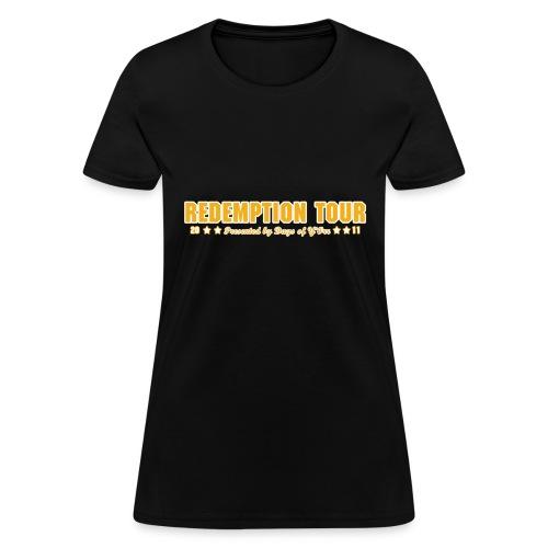 Redemption Tour -- womens standard - Women's T-Shirt