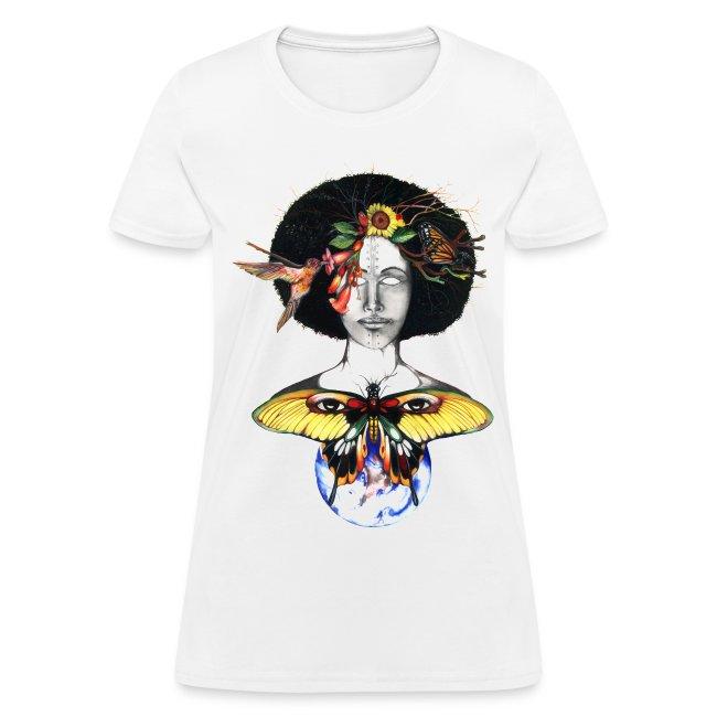 5112892f8043 A.T.B Fine Artists & Designers Merchandise | Mother Nature III Tee ...