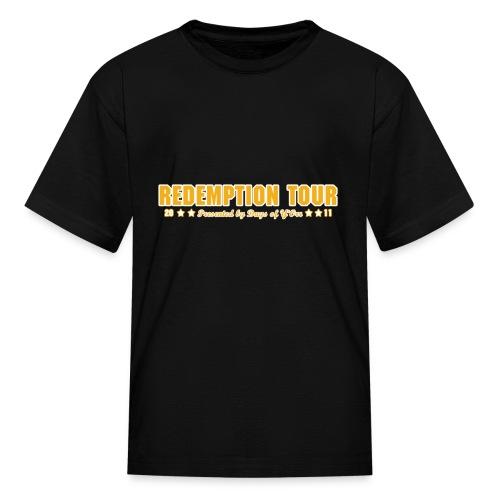 Redemption Tour -- children's standard - Kids' T-Shirt