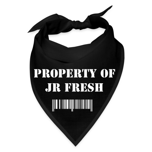 Property of Jr Fresh Barcode'd Bandana - Bandana