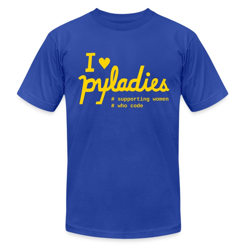 iheartpyladies - Men's T-Shirt by American Apparel