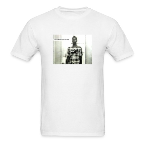 vincent_young_mug_shot - Men's T-Shirt
