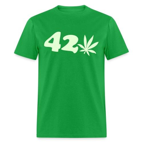 420 all day long - Men's T-Shirt