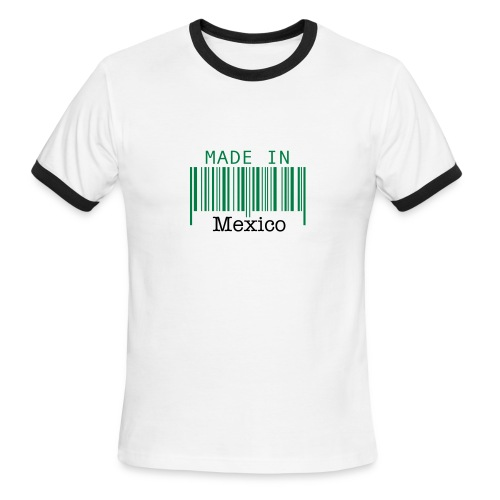 Made In Mexico - Men's Ringer T-Shirt