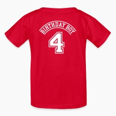 Birthday boy 4 years Kids' Shirts