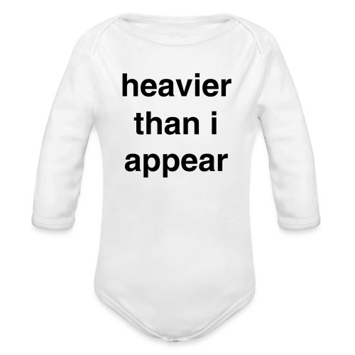 Truth - Organic Long Sleeve Baby Bodysuit