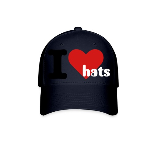 i love hats - Baseball Cap