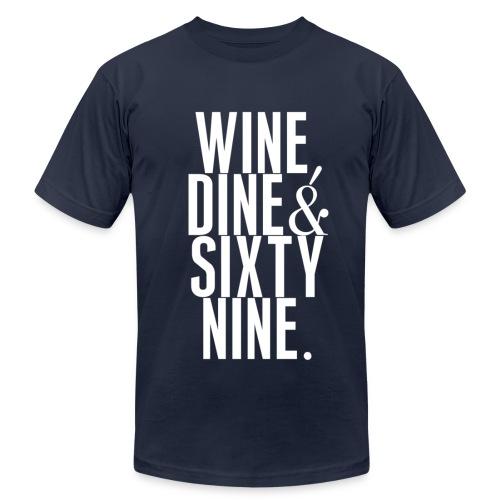 Wine Dine  - Men's  Jersey T-Shirt