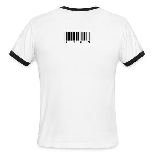 The Orwell Choker - Men's Ringer T-Shirt