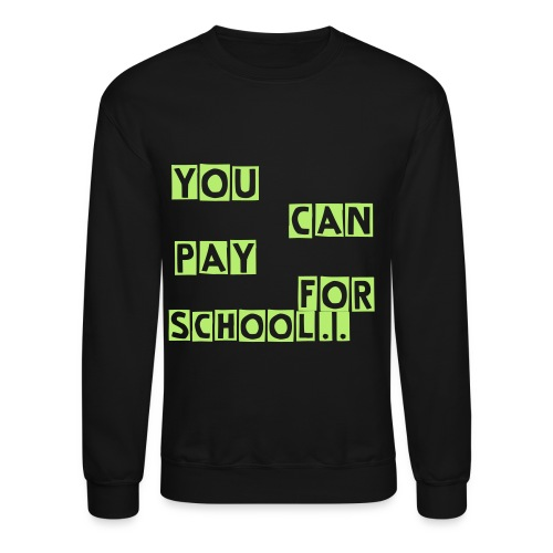 Mens You Cant Buy Class Crewneck Sweater  - Crewneck Sweatshirt