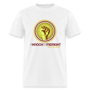 The AKAM Power Knock Tee (white) - Men's T-Shirt