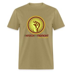 The AKAM Power Knock Tee (khaki) - Men's T-Shirt