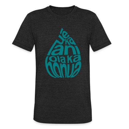 (Hawaiian) Heaven Weeps The Earth Lives - Unisex Tri-Blend T-Shirt