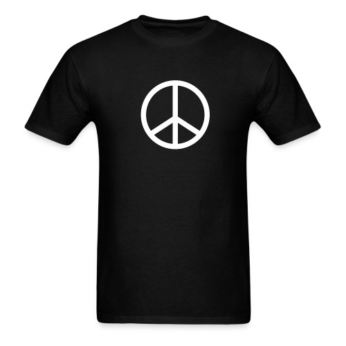 PEACE (black) - Men's T-Shirt