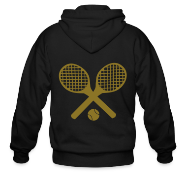 Tennis Ball Zip Hoodies/Jackets