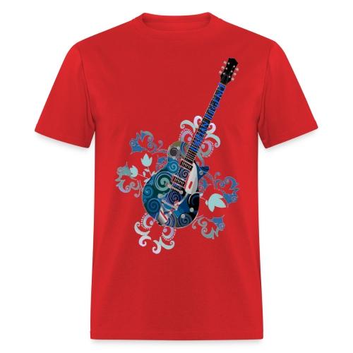 Men's Urban Graphics Guitar T-Shirt - Men's T-Shirt