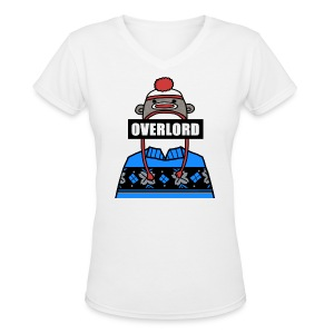 Misha Collins [Overlord] (DESIGN BY MICHELLE) - Women's V-Neck T-Shirt
