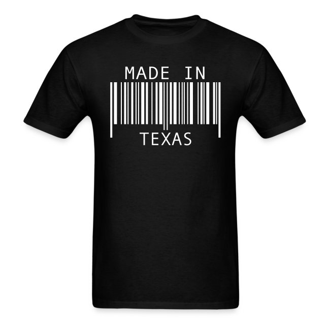 Made In Texas Barcode