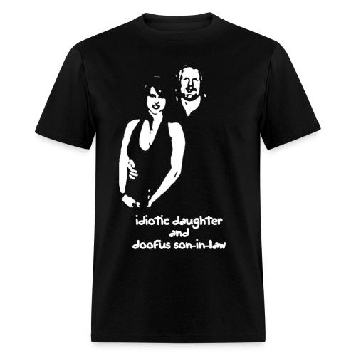 Idiotic & Doofus - Men's T-Shirt