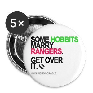 Some Hobbits Marry Rangers Button - Small Buttons
