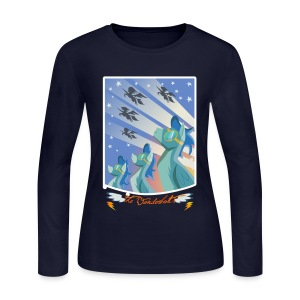 Long Sleeved Fillies' Tee - Women's Long Sleeve Jersey T-Shirt