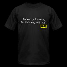 To Err is Human Men's Tee (Black) ~ 316