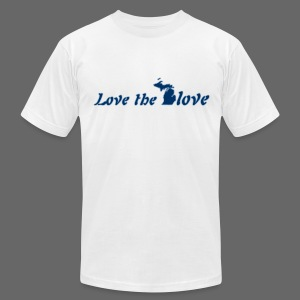 Love the Glove - Men's T-Shirt by American Apparel