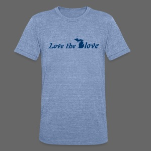 Love the Glove - Unisex Tri-Blend T-Shirt by American Apparel