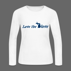 Love the Glove - Women's Long Sleeve Jersey T-Shirt