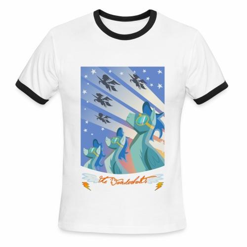 Blaze Across Equestria '10 (ringer tee) - Men's Ringer T-Shirt