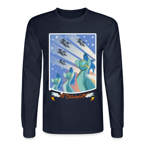 Blaze Across Equestria '10 (long sleeve) - Men's Long Sleeve T-Shirt