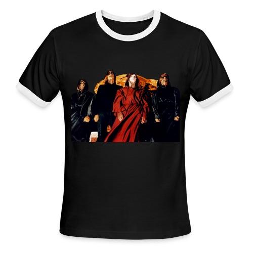 Contrast CORPSE ts - Men's Ringer T-Shirt