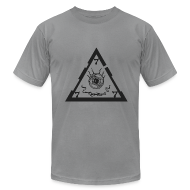 T-Shirts ~ Men's T-Shirt by American Apparel ~ TRIANGLE light ts