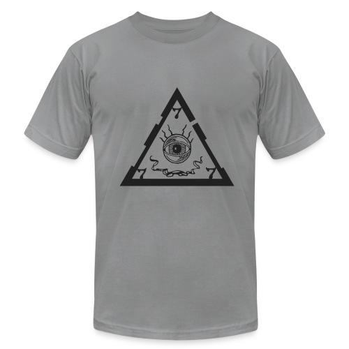 TRIANGLE light ts - Men's Fine Jersey T-Shirt