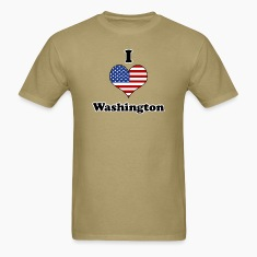 I love Washington T-Shirts